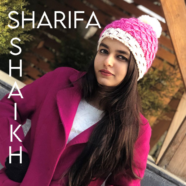 July's Artist of the Month... Sharifa Shaikh