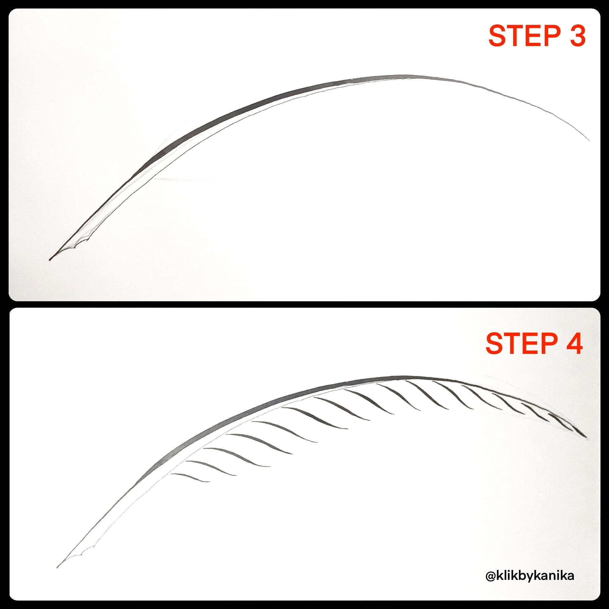 step 3/4 kanika