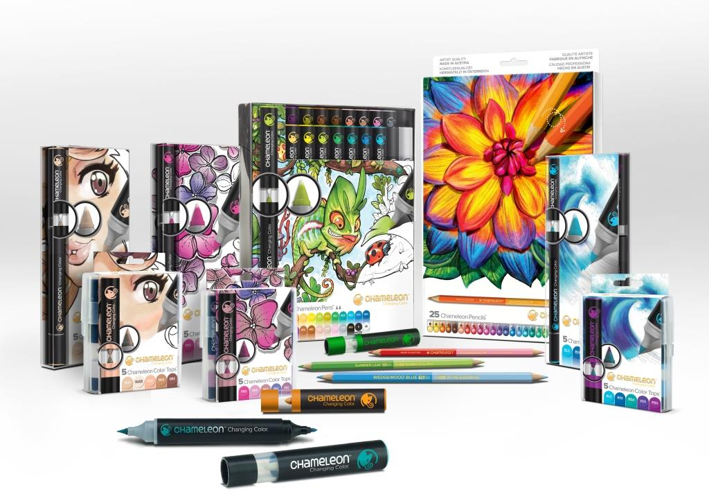 MANUSCRIPT APPOINTED EXCLUSIVE UK DISTRIBUTOR FOR AWARD WINNING CHAMELEON ART PRODUCTS